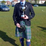 Pipe Major Neil Henderson